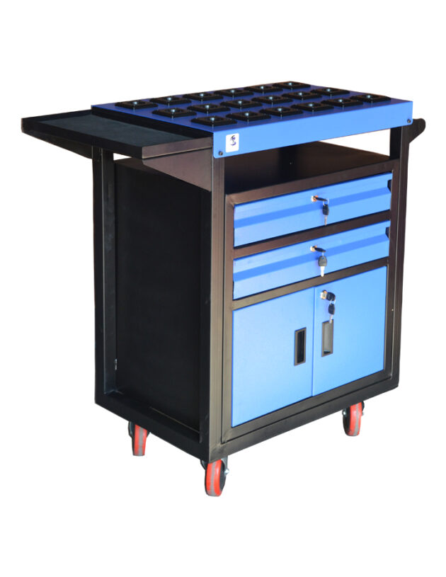 Square Trolley Plus (BST-3) Blue
